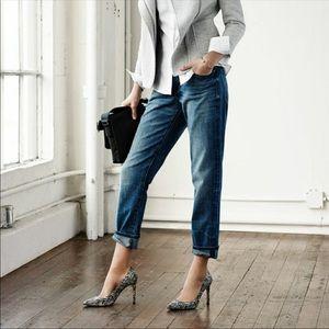 CALVIN KLEIN Boyfriend Fit Embellished Jeans- 18W